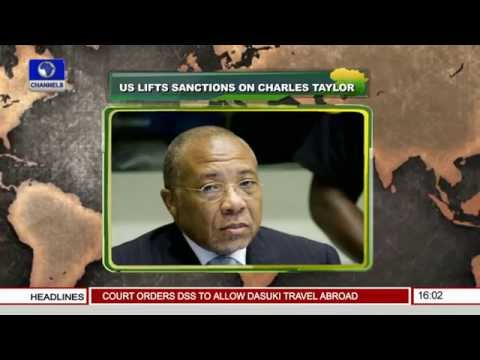 U.S. Lifts Economic Restrictions On Liberia -- 13/11/15 Pt 1