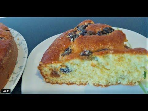 gâteau-aux-raisins-secs-moelleux-réalisé-en-5mn😊-👍