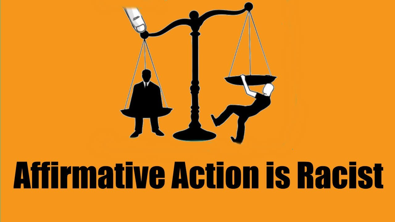 """the racial discrimination issue surrounding affirmative action Affirmative action watch act prohibits racial discrimination in a workforce that """"looks like"""" the surrounding community — and how it."""