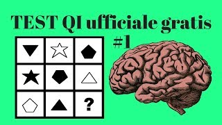 TEST D'INTELLIGENZA Culture Free per scoprire il Quoziente Intellettivo online (Parte 1/3)