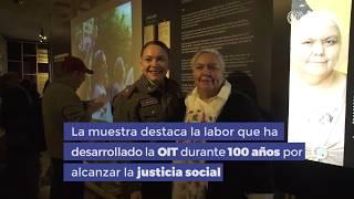 OIT 100 AÑOS EXPO MUSEO MEMORIA Y DDHH