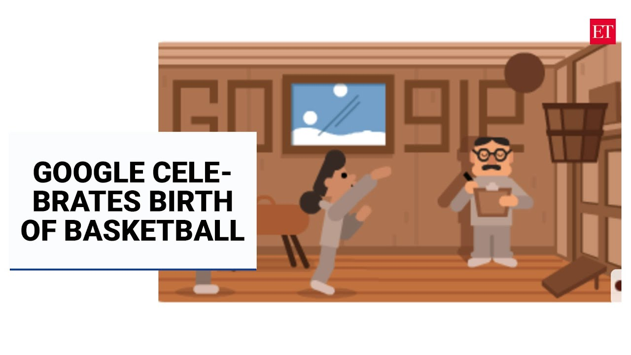 Google Doodle celebrates basketball inventor James Naismith