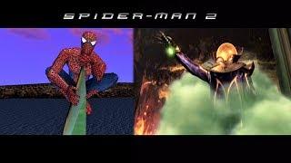 Spider-Man vs Mysterio - SPIDER-MAN 2 GAME (2004)