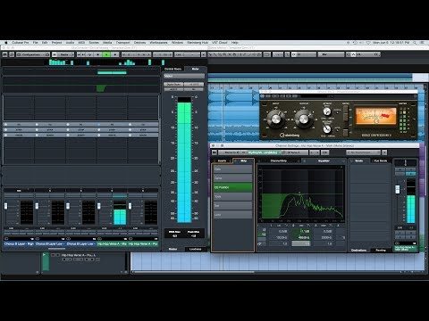 Mixing Hip Hop Vocals with Stock Plugins (Cubase)