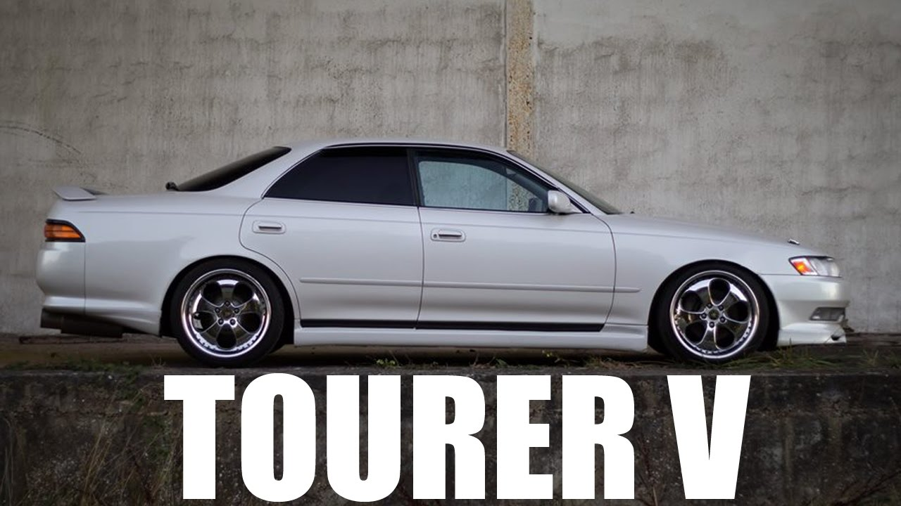 DRIFTEUSE HOMOLOGUÉE : Toyota Mark II JZX90 Tourer V