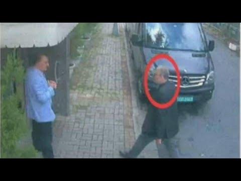 euronews (in English): Watch: Jamal Khashoggi enters the Saudi consulate