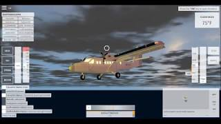 Bad but successful st barths approach in velocity flight simulator (Roblox)