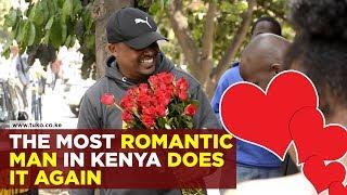 The most romantic man in Kenya does it again | Tuko TV