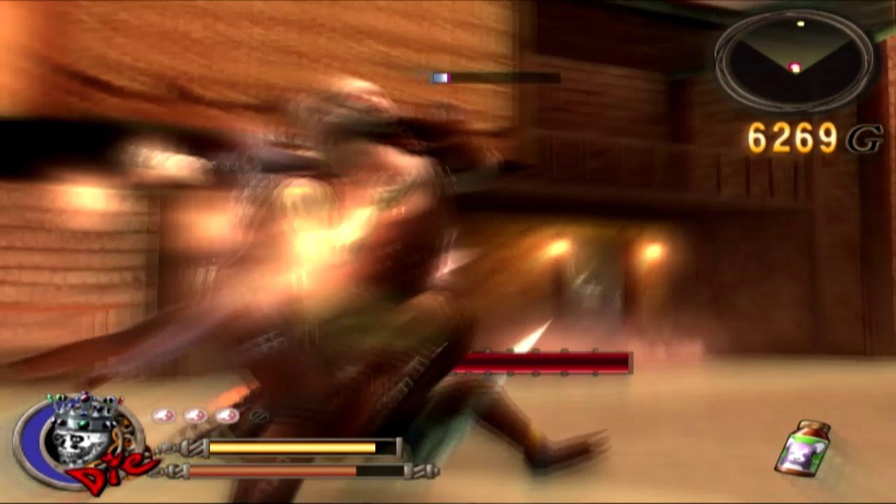 very fast god hand demon kill incedrible hihg speed