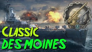 Classic Anti Air Des Moines || World of Warships