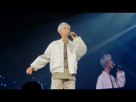 191117 Baekhyun Betcha, UN Village @ SuperM 슈퍼엠 We Are The Future Live Washington DC Concert Fancam