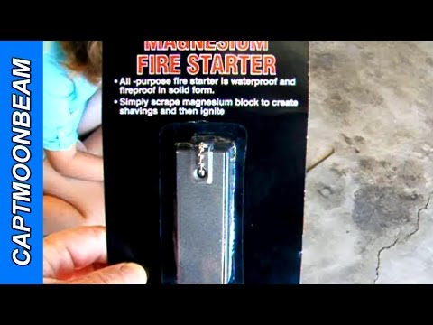 Does It Work? Magnesium Fire Starter