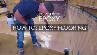 Countertop Epoxy Flooring How-To