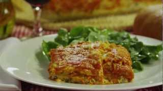 Spinach Lasagna Recipe - How To Make Fresh Spinach Lasagna