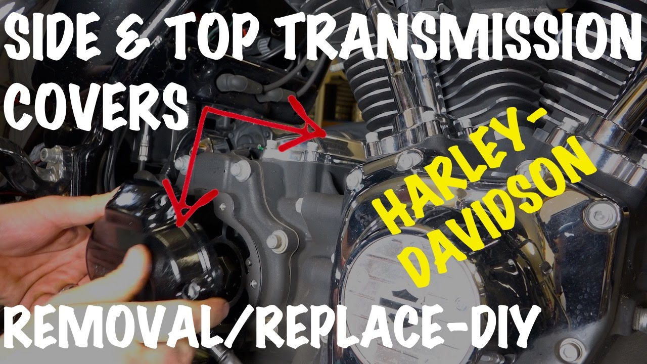 remove install harley side top transmission covers diy motorcycle podcast [ 1280 x 720 Pixel ]