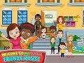 My Town: Best Friend's House - iPad app demo for kids - Ellie