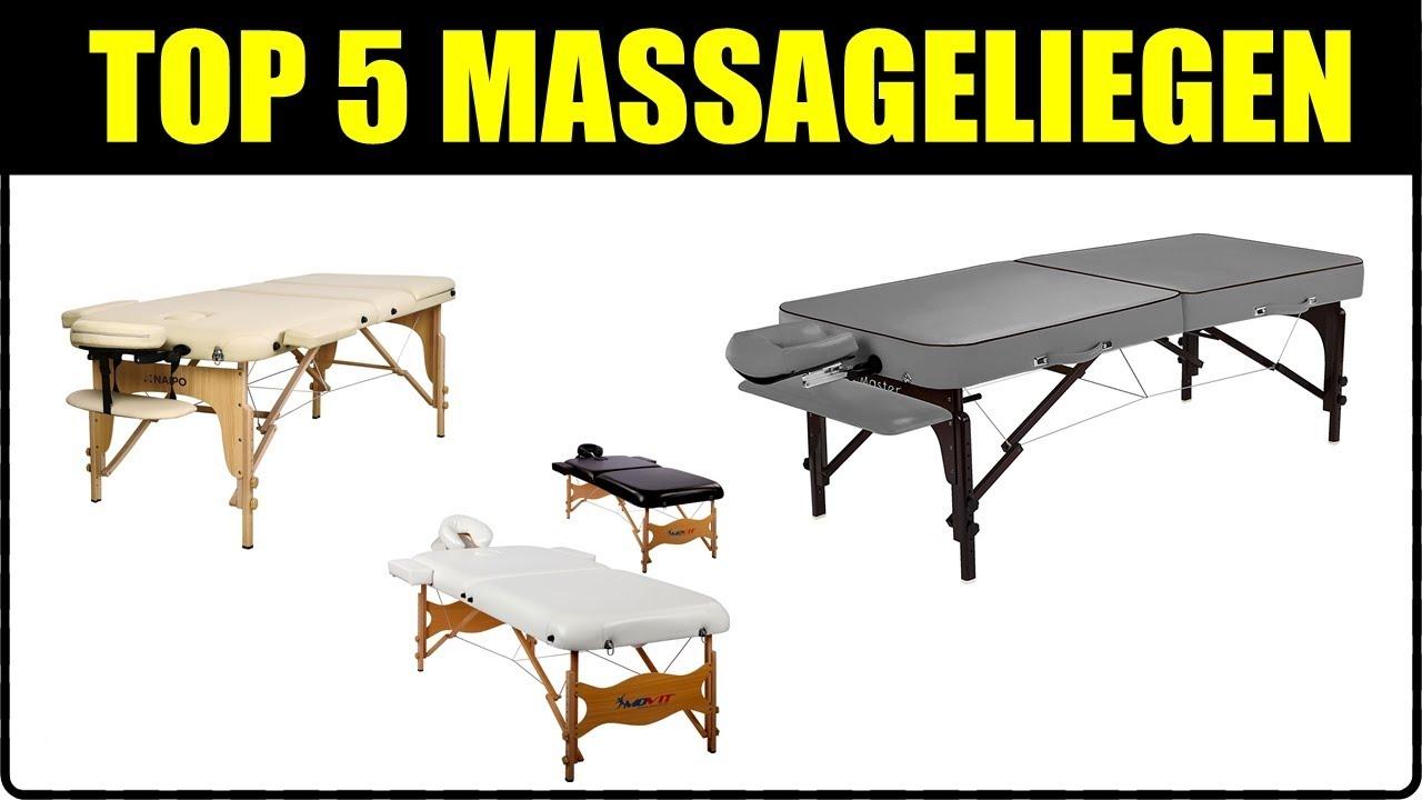 Massageliege Test