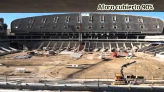 Viaje al centro de La Peineta, el nuevo estadio del Atlético de Madrid