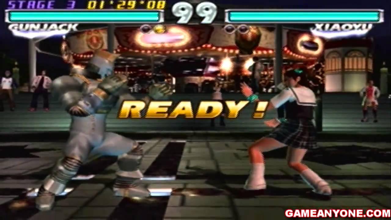 Tekken Tag Tournament 1 On 1 Mode Hd Gun Jack Playthrough Youtube