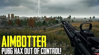 PUBG Hacker AIMBOTS EVERYONE and Gets Banned