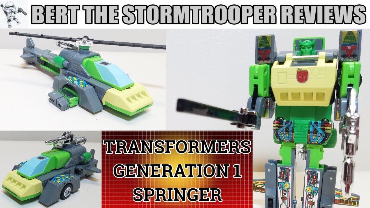 G1 Springer Throwback Thursday Review - Bert the Stormtrooper Reviews!