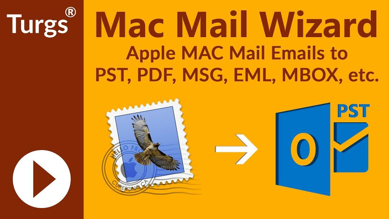 Turgs Mac Mail File Converter Wizard