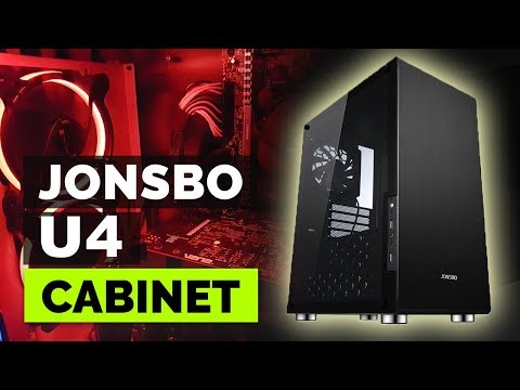 8,500 Rupees Gaming PC Cabinet. Jonsbo U4 Mid Tower Case (Black) review and unboxing