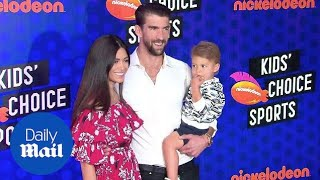 The Phelps family at Nickelodeon Kids' Choice Sports Awards 2018 - Daily Mail