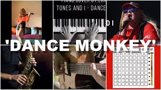 Who Played It Better: Dance Monkey Violin, Piano, Fingerstyle Guitar, Saxophone, Launchpad
