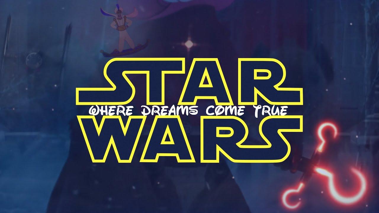 star wars the force awakens disney mashup youtube. Black Bedroom Furniture Sets. Home Design Ideas