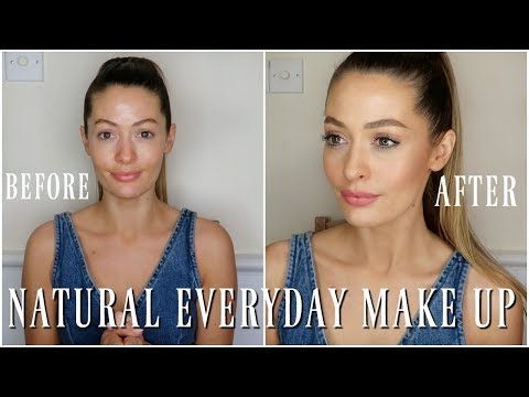 NATURAL EASY EVERYDAY MAKEUP TUTORIAL | MODEL MOUTH