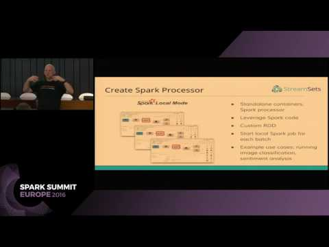 Building Data Pipelines with Spark and StreamSets (Pat Patterson)
