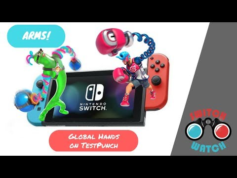 ARMS Nintendo Switch Testpunch hands on