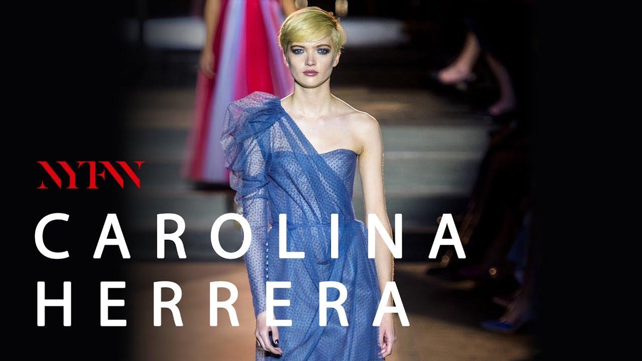 9be3fe2088 ÚLTIMO desfile de CAROLINA HERRERA como diseñadora - YouTube