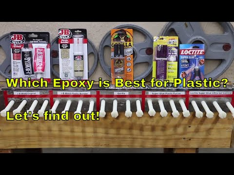 Which Epoxy is Best for Plastic? Let's find out!