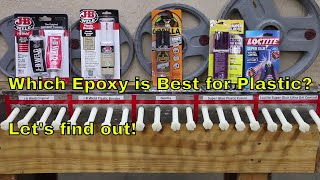 Video Which Epoxy is Best for Plastic?  Let's find out! download MP3, 3GP, MP4, WEBM, AVI, FLV Juli 2018