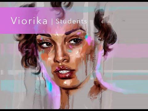 Цифровая живопись   Виорика Морар