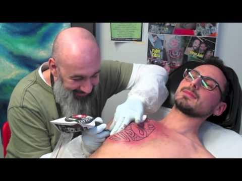 Alle Tattoo - maori freehand