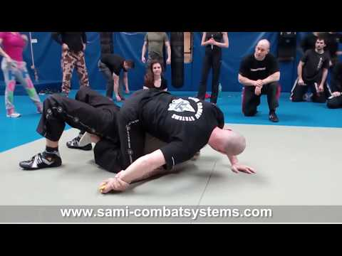 SAMI Knife Fighting Concept Seminar - Ground Combat