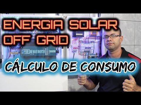 ENERGIA SOLAR OFF GRID Luciano Batista cálculo de consumo