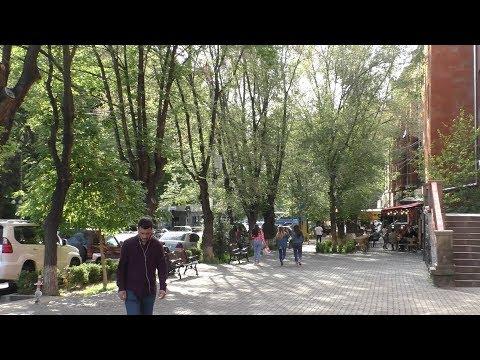 Myasnikyan Ave. -  Isahakyan Str. Yerevan, 07.05.19, Tu, Video-1.