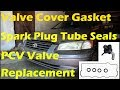 Valve Cover Gasket, Spark Plug Tube Seals, and PCV Valve Replacement '87-'01 Camry 2.2L 4 Cylinder
