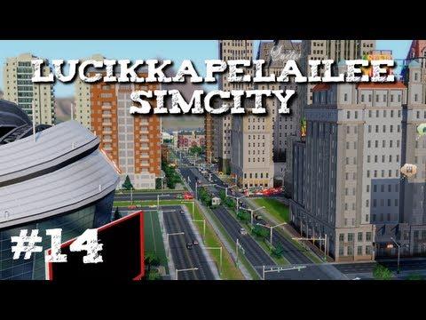 Simcity - 14 - Expo Center, Empire State building ja kaikkea muuta hullua!