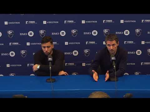 Conférence de presse - Press conference : Saphir Taïder