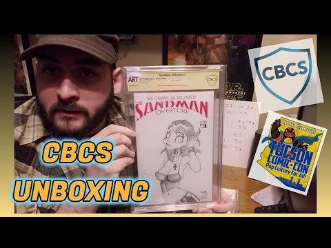 CBCS Comic Unboxing! Tucson Comic-Con Signature Books!