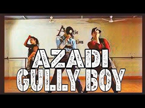 Azadi - Gully Boy | Dub Sharma | Divine | Dance Choreography- Ashwin Yadav | Artistic Motion Studio