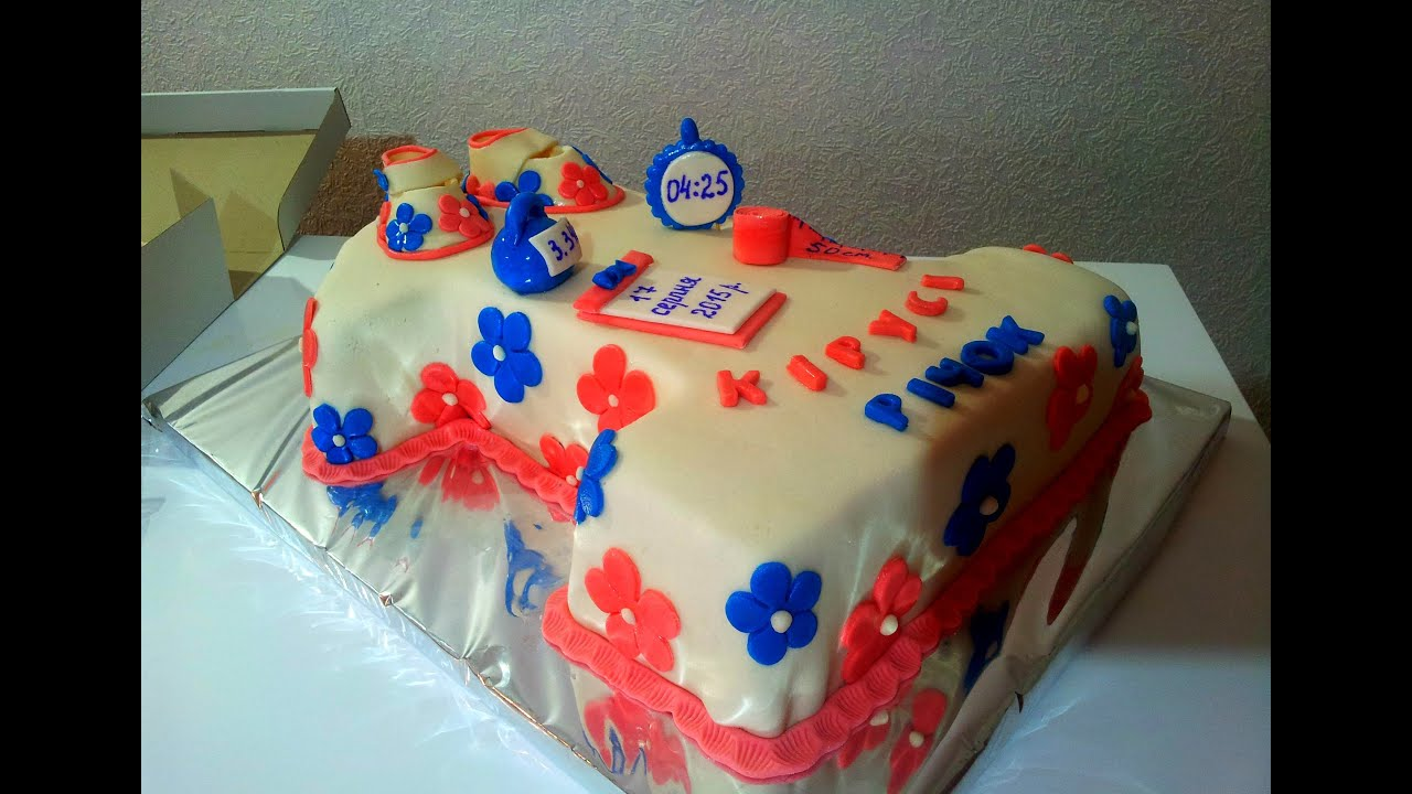 торт детский на день рождения рецепт единица