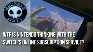 [Gaming] WTF is Nintendo thinking with the Switch's online subscription service? thumbnail