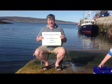 Alistair Carmichael MP #icebucketchallenge