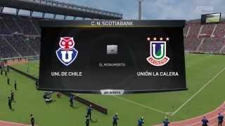 FIFA 15 - Simulación oficial U. de Chile vs U. La Calera